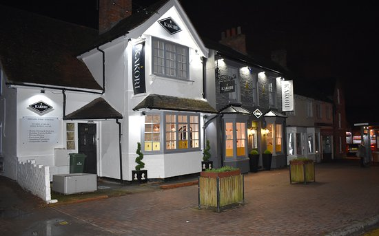 Newport Pagnell, UK: Restaurant exterior