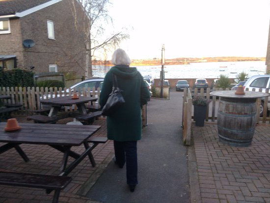 Manningtree, UK: the view from the back