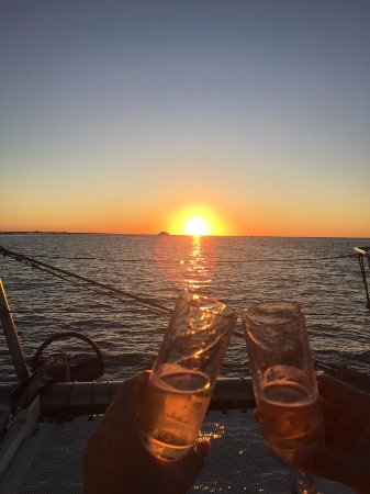Cool Beans Cruises: Beautiful sunset