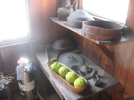 Mordecai Historic Park : kitchen