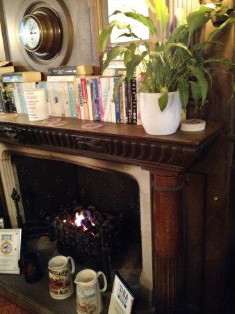 Burton upon Trent, UK: Cosy Fire