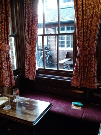 Burton upon Trent, UK: View from the Back Bar