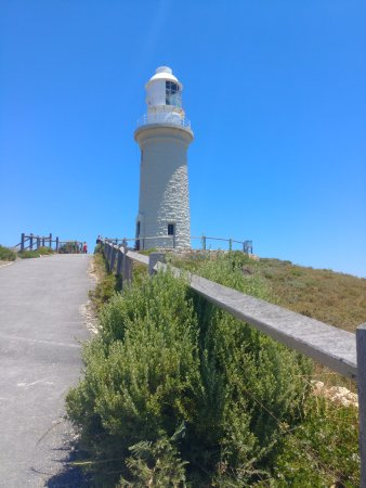 Lighthouse on Rottnest island.