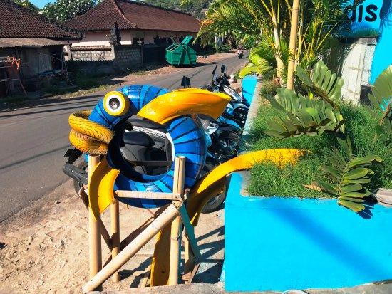 Manggis, Indonesia: liebevolle Gestaltung