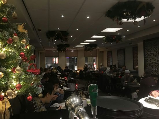 Chinese Restaurants Open On Christmas.Christmas Decorations From Fulu Mandarijn Chinese Restaurant