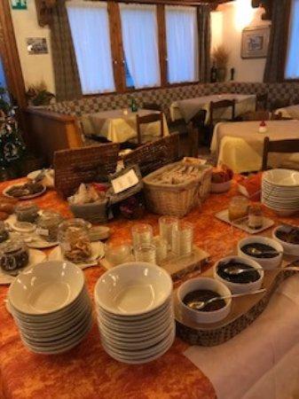 Hotel Villa Rina : colazione
