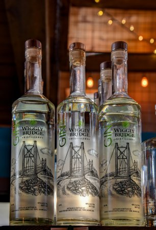 York, ME: We distill our own gin using our white whisky base.