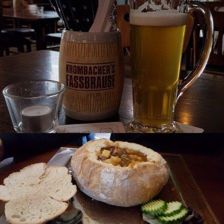 Merzig, เยอรมนี: Goulash Suppe
