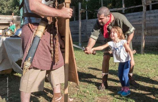 Вилла-Адриана, Италия: la storia con i bambini