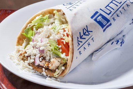 Winter Garden, FL: Greek Chicken Pita