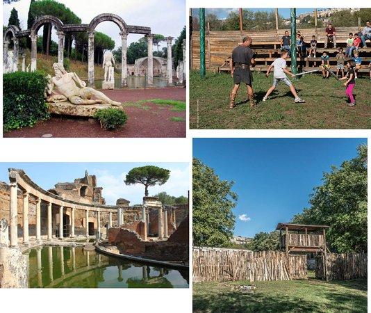 tour di villa adriana e scuola gladiatori