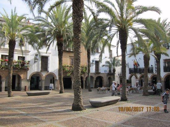 Zafra, Spanien: Plaza Grande