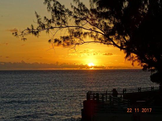 Worthing, Barbados: Sunset