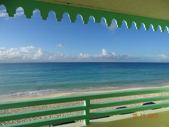 Worthing, Barbados: From balcony