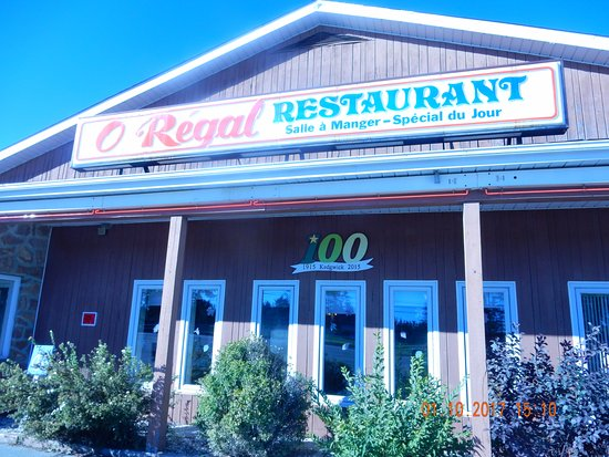Kedgwick, Kanada: O'Regal Restaurants