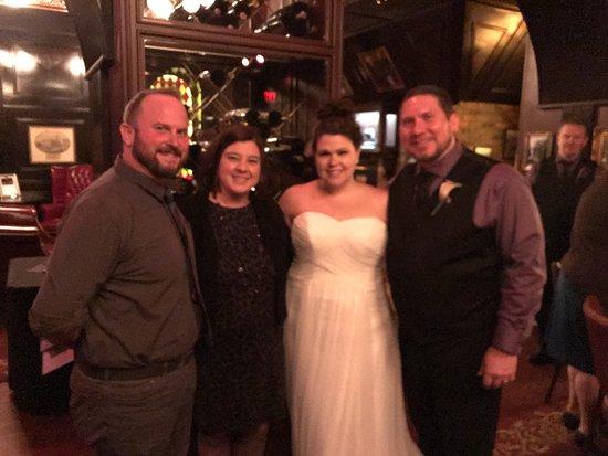 The Precinct: Precinct wedding