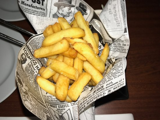Arinsal, Andorra: French fries