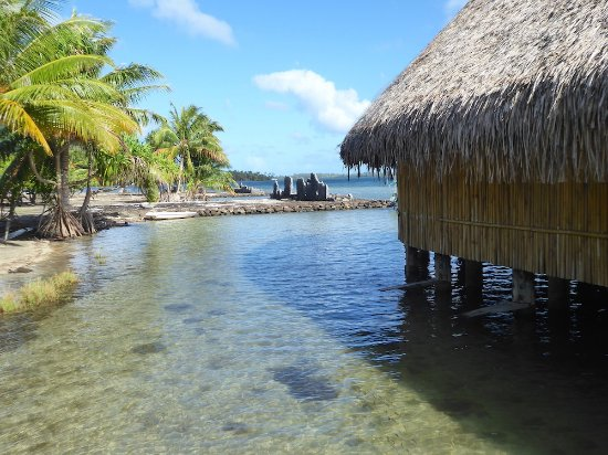 Huahine, Polynésie française : Take time to absorb this stunning location