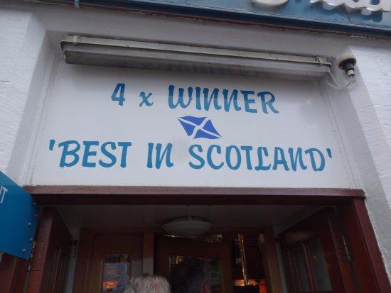 Anstruther, UK: Award winner.