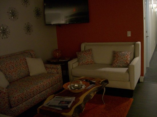 Mebane, NC: The Front Desk Lobby Seating.