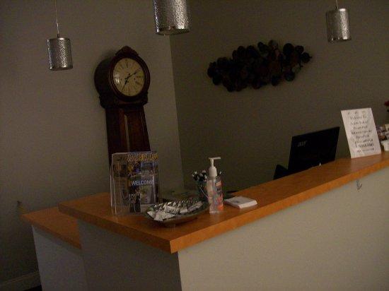 Mebane, NC: The front desk.