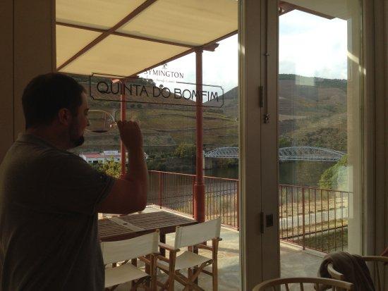 Pinhao, Portugal: degustação