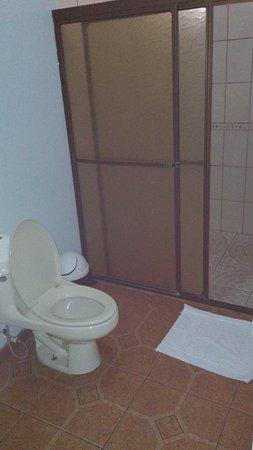 Arenal Green Hotel: View of bathroom from bath's door