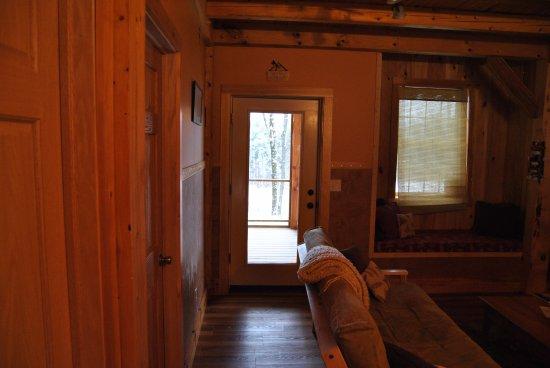 Ripton, VT: Inside the cabin!