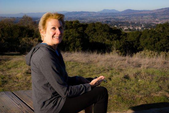 Petaluma, Калифорния: Overlook Point with Views of Peteluma