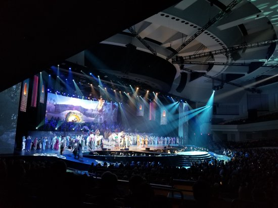 Prestonwood Christmas Show.Grand Finale Of The Gift Of Christmas Picture Of