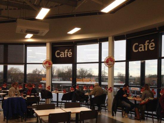 Waterlooville, UK: Area of seating