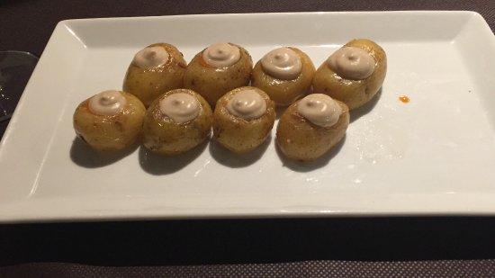 El Prat de Llobregat, إسبانيا: stuffed potatoes