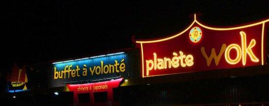 Boulazac, Франция: Buffet à volonté