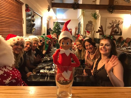"Kirkby Stephen, UK: Christmas Parties! With our Elf on the Shelf ""Gingle"""