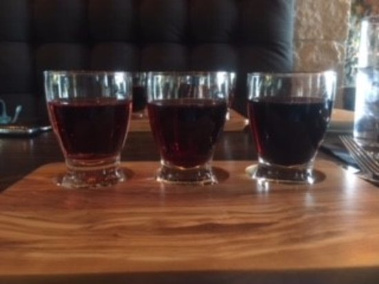 Cypress, TX: wine flight