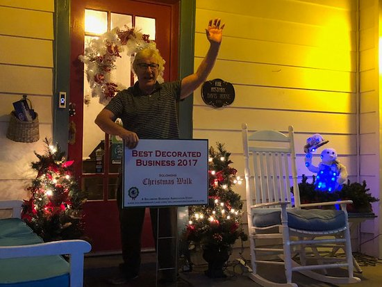Solomons, MD: We shared first place for Best Decorated Business this year!