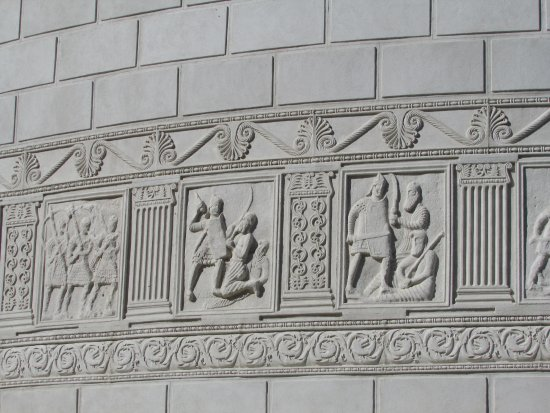 Tropaeum Traiani Monument: battle scenes 7
