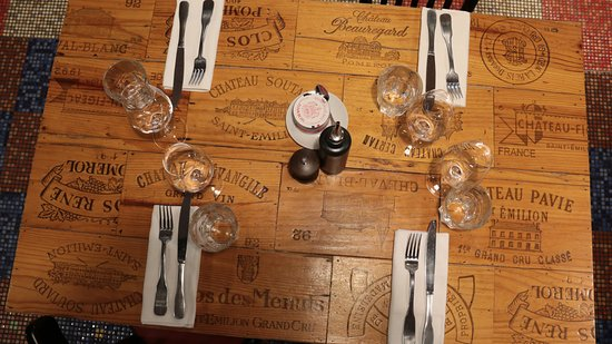 L envers du decor saint emilion restaurant reviews