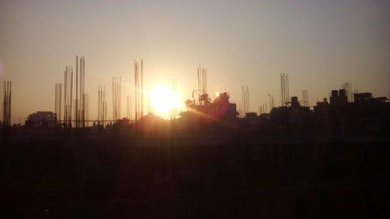 Hotel Horizon: Beautiful sunrise