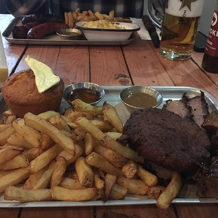 Great bbq man v food style - Picture of Smoke Barbecue, Glasgow ...