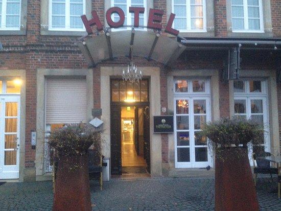 Schoeppingen, Tyskland: Eingangsbereich des Hotels
