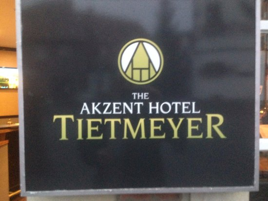 Schoeppingen, Duitsland: Das Logo des Hotels
