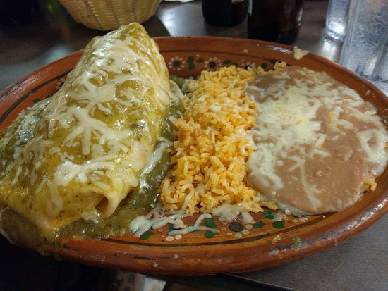 Pahrump, NV: a very wet burrito