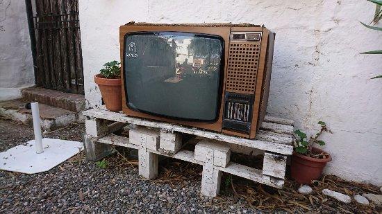 Province of Malaga, Espanha: Para ver la tv en la terraza