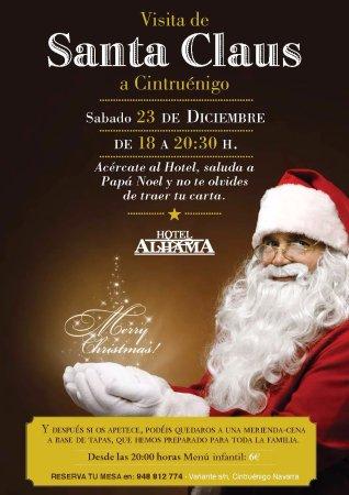 Cintruenigo, Spanje: Santa Claus / Papa Noel
