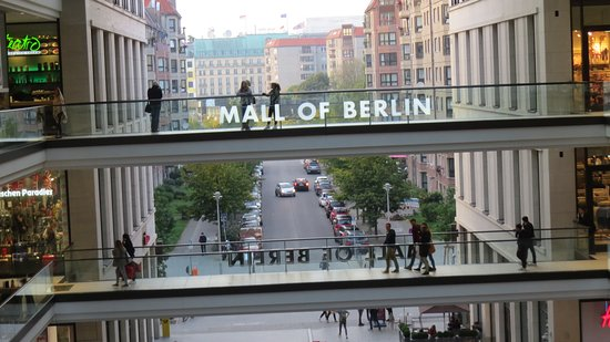 Mall Of Berlin Photo By Mike Keenan