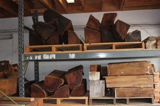 Kaneohe, HI: New Koa wood acquired from Hawai`i Island