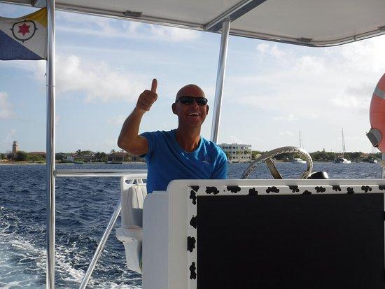Кралендейк, Бонэйр: Henk the captain and a great guy.