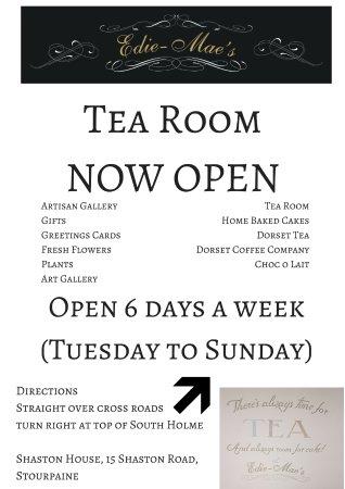 Blandford Forum, UK: Tea Room