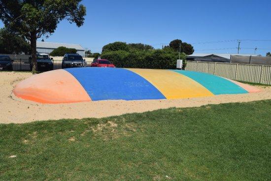 Goolwa, Avustralya: Jumping Pillow
